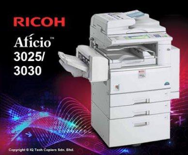 ماكينة تصوير مستندات ( ricoh 3025 )
