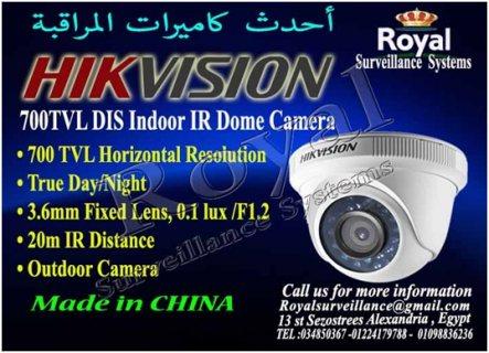 كاميرات خارجية HIKVISION  بدرجة وضوح صورة  700 TVL