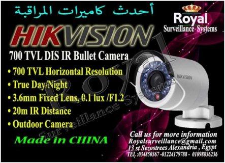 كاميرات خارجية HIKVISION  بعدسات  3.6 mm
