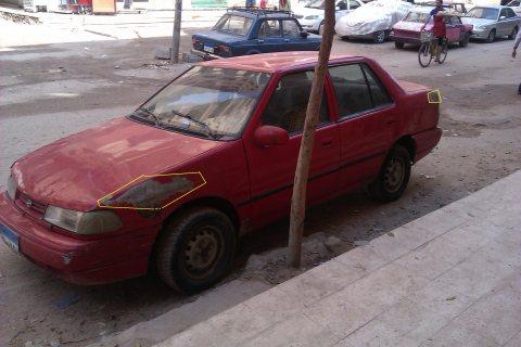 اكسيل 1500 سي سي 97