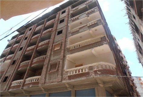 شقق للبيع ف اسكندرية غرفتين  75م  ب20000ج برؤية مباشرة للبحر