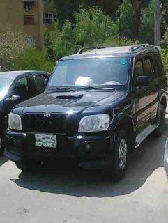 سيارة ماهيندرا سكوربيو 2009 فبريكا من الداخل والخارج للبيعّ..ّّ.