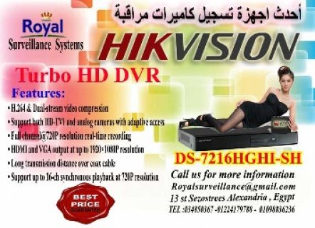 TURBO HD DVR HIKVISION