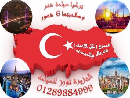 سافر على دولة الفرص ( تركيا ) سياحه شهر صلاحيتها 6 شهور