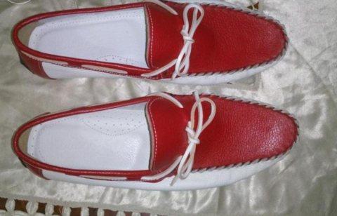 8907e362c حذاء رجالى من الجلد الطبيعي للبيع