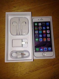 Iphone 6 plus 128 g white ايفون ٦ بلس ١٢٨ ج ابيض