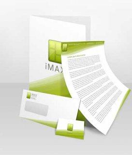 عرض تصميم الهوية والشعار من اتقان هوية الشركة (Corporate Identit