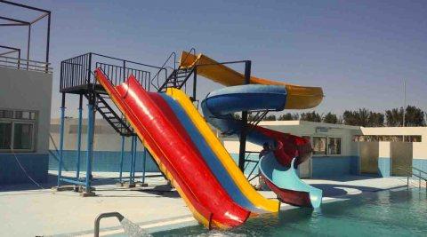 زحاليق مائية كرنفالات مائية زحاليق حمامات السباحة فيبرجلاسز ----