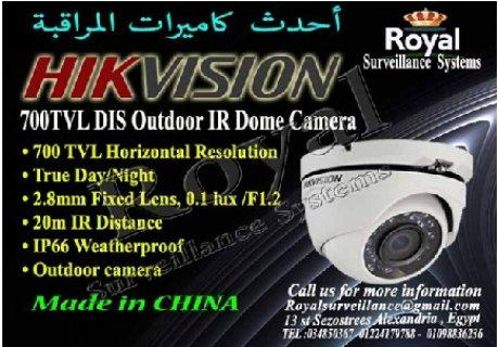 كاميرات مراقبة خارجية HIKVISION  بعدسات   mm2.8
