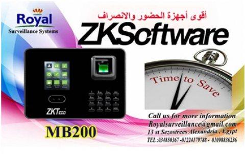 ساعة حضور والانصراف MB200