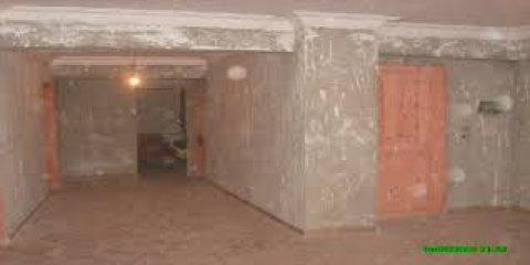 شقة للبيع نصف تشطيب