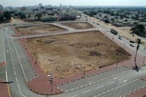 ارض للبيع بالقاهره الجديده بابو الهول بمنطقه ت 01288687799