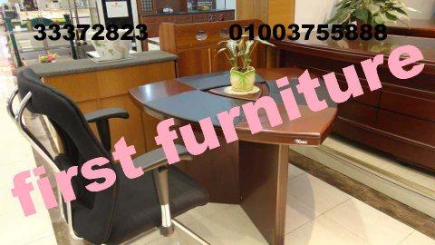 طاولات مكتب متنوعة المقاسات - ترابيزات مكتبية من فرست للأثاث المكتبى
