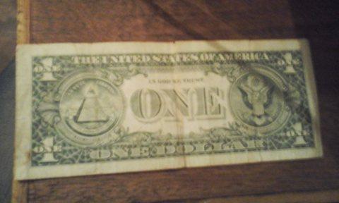 واحد دولار قديم 1988