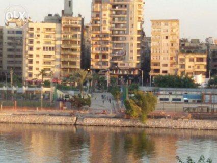 شقة 90 م صافي تري النيل مباشرة