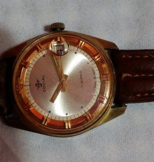 Vintage Jovial 17 gewels - Swiss made.