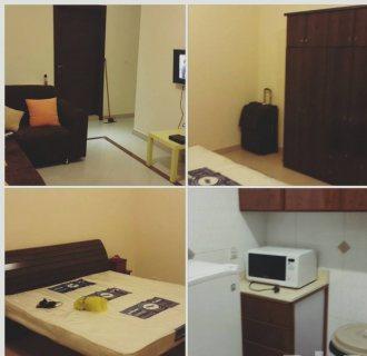 شقة ايجار غرفة واحدة وصالة مساحة 50 متر