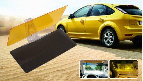طقم شماسات hd لتحسين الرؤية اثناء قيادة السيارات ليلا ونهارا