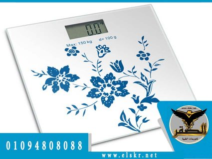 الميزان الالكترونى لقياس الوزن