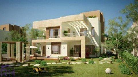 فيلا بنطام Smart homeبتصميم مميز في أكبر كمبوند بأكتوبر