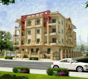 شقة فى عمارات النصر مساحة 215م