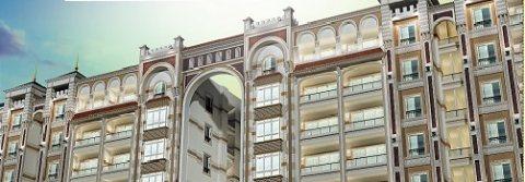 شقة للبيع 105م بسموحة بجوار نادي سموحة بتسهيلات علي 48 شهر