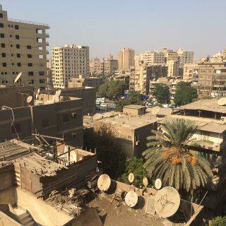 شقة بالمهندسين موقع مميز بالقرب من شارع احمد عرابى