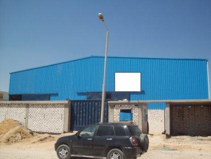 مصنع للبيع 6400متر  برج العرب الجديدة