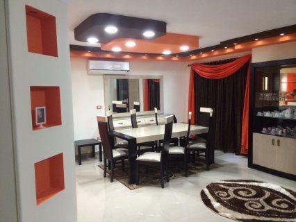 شقة مفروشة للايجار بمدينه نصر حي السفارات 700ج اليوم