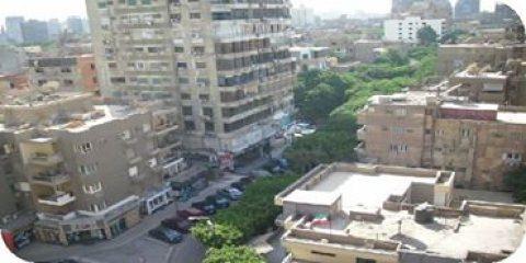 شقه تمليك بشارع شهاب المهندسين مساحه ٣٣٠ مترالدور الرابع٥ غرف نو