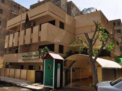 للايجار مبني اداري باقوي شارع في المهندسين للسفارات والشريكات