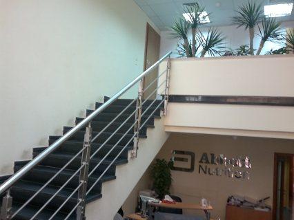 للإيجار مقر ايداري باقوي شارع ريئسي بالمهندسين في مبني ايداري مس