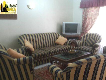للايجار شقة مفروشة فندقيه من عباس العقاد 6500ج شهريا