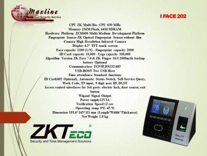 للتركيب ماكينة البصمه IFACE202الاسكندرية