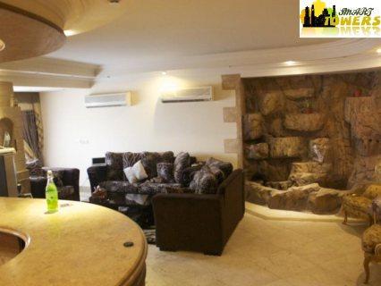 شقة مفروشة للايجار بمكرم عبيد فندقيه 450ج اليوم