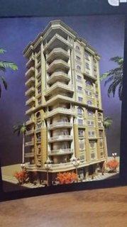 شقة للبيع 130م بالشعبية دور 3 ببرج حديث