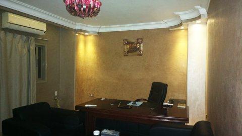 فرصة للأيجار مكتب مفروش فندقى 120 متر بأحمد عرابى بالمهندسين