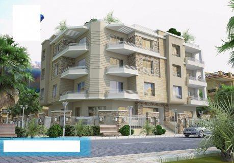 شقة بالاندلس بالتجمع الخامس مساحة 164م على ميدان بحرى  بتسهيلات
