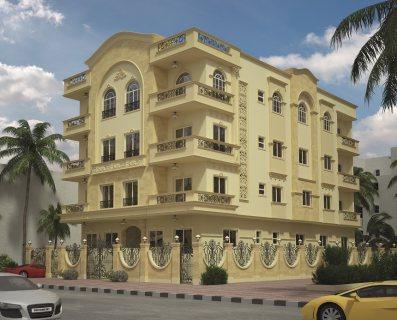 شقة بالاندلس بالتجمع الخامس مساحة 175م بحرى  على حديقة موقع متم
