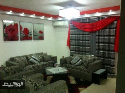 شقة مفروشة للايجار من اول عباس بحي السفارات 700ج اليوم