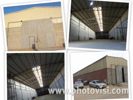 مخزن للبيع أو للإيجار 1000 متر يصلح لجميع الأغراض 01000001145