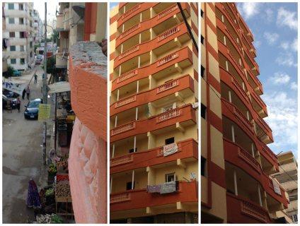 للبيع شقة سكنية بمساكن الحديد والصلب (الكيلو21)
