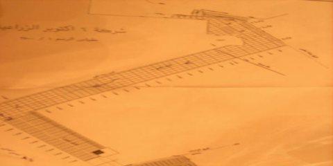 ارض بال78 قطعة توسعات مساحة 700م