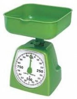 ميزان مطبخ 5 كيلو عداد مؤشر ساعة خاص