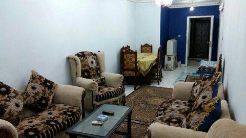 شقة مفروشة قريبة من طريق النصر للايجار