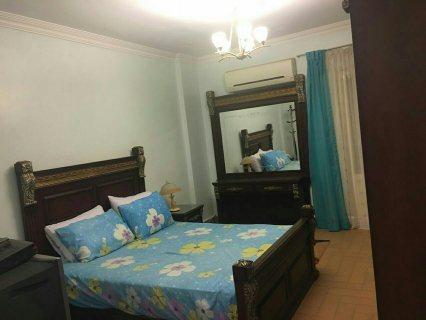 -=شقة مفروشة بفيو حديقة الدولية مدينة نصر للايجار