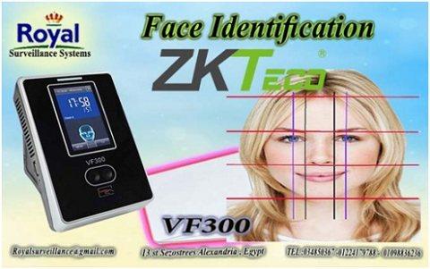 نظام حضور والانصراف ZKTeco يتعرف على الوجه و الكارت  VF300