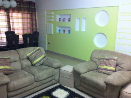 فرصة شقة مفروشة امتداد عباس حى السفارات للايجار