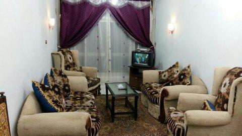 فرصة شقة مفروشة قريبة من طريق النصر للايجار
