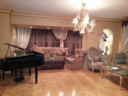 للايجار شقة مفروشة فاخرة  من عباس العقاد 700 جنية لليوم